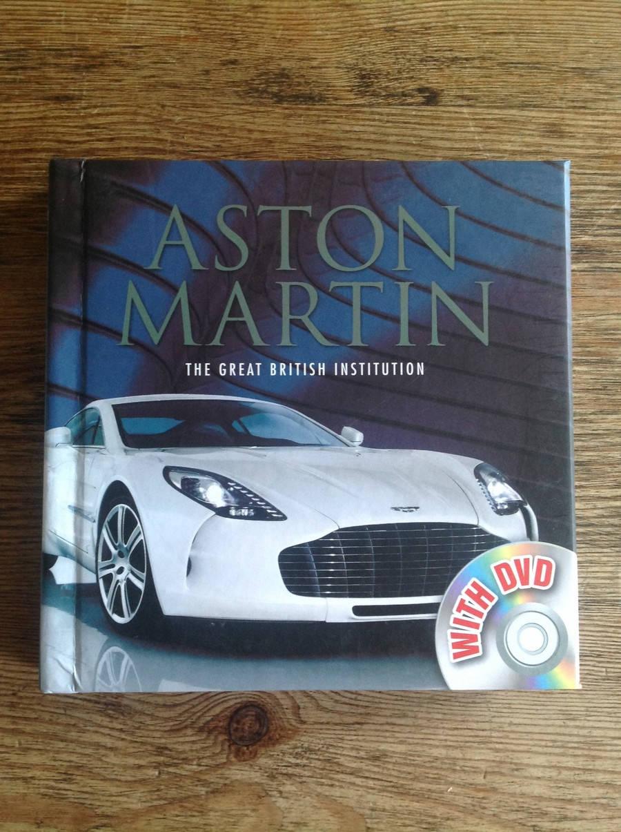 Aston Martin Classic Aston Martin Memorabilia Aston Martin Books Aston Martin The Great British Institution Autotreasures