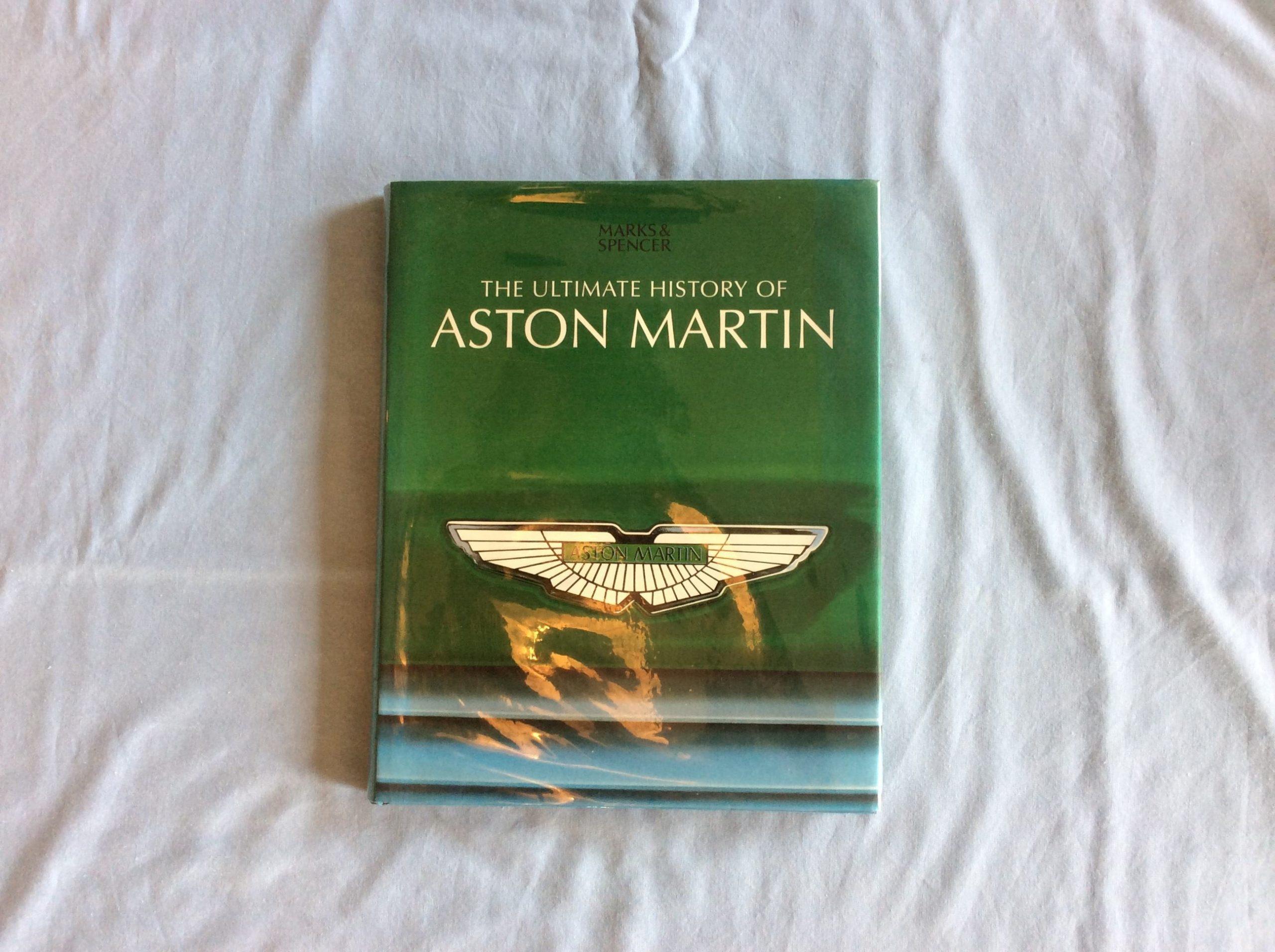 Aston Martin Classic Aston Martin Memorabilia Aston Martin Books The Ultimate History Of Aston Martin Book Autotreasures
