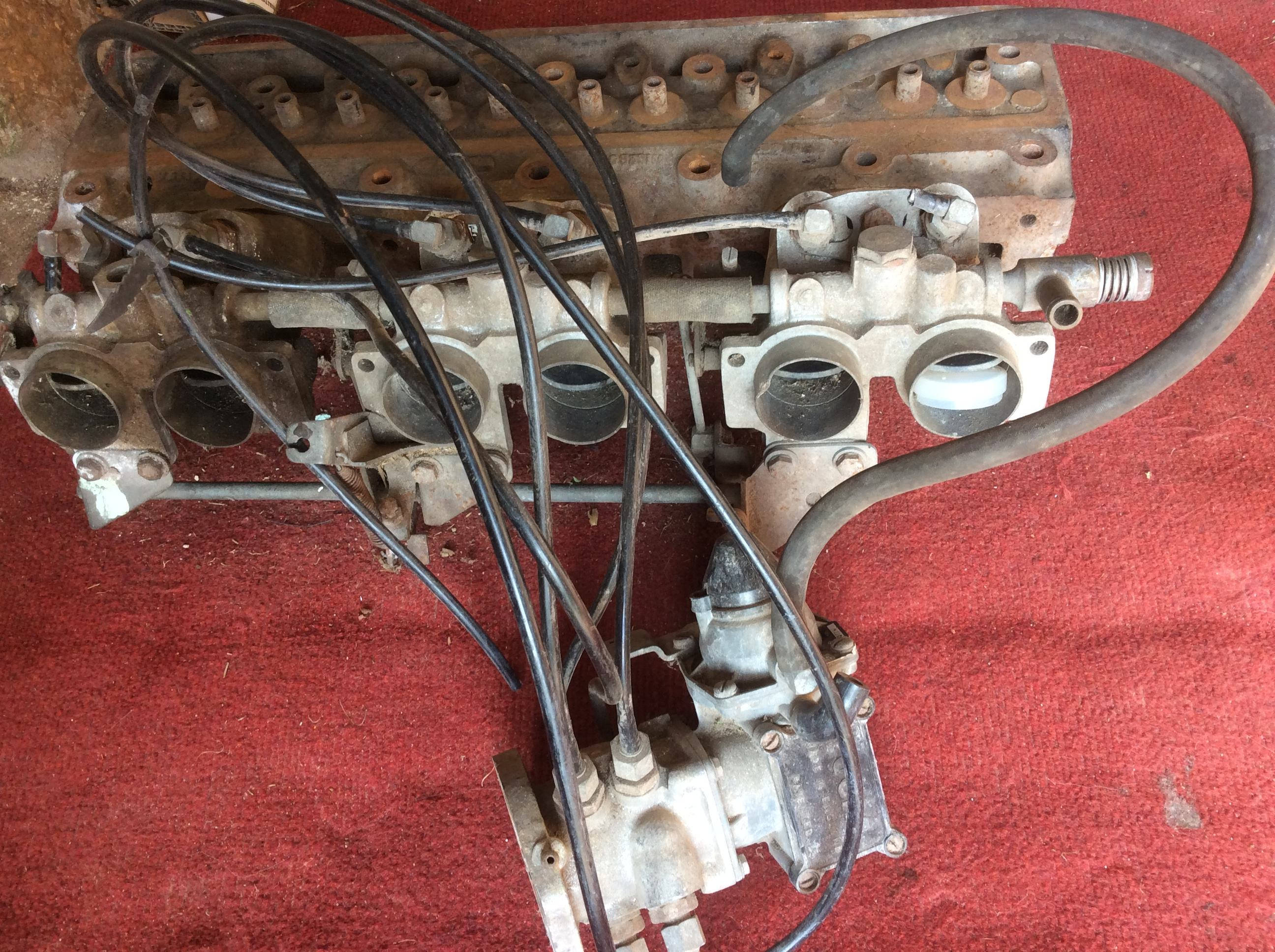 Cylinder Head Manifold Inj Pump For Tr6