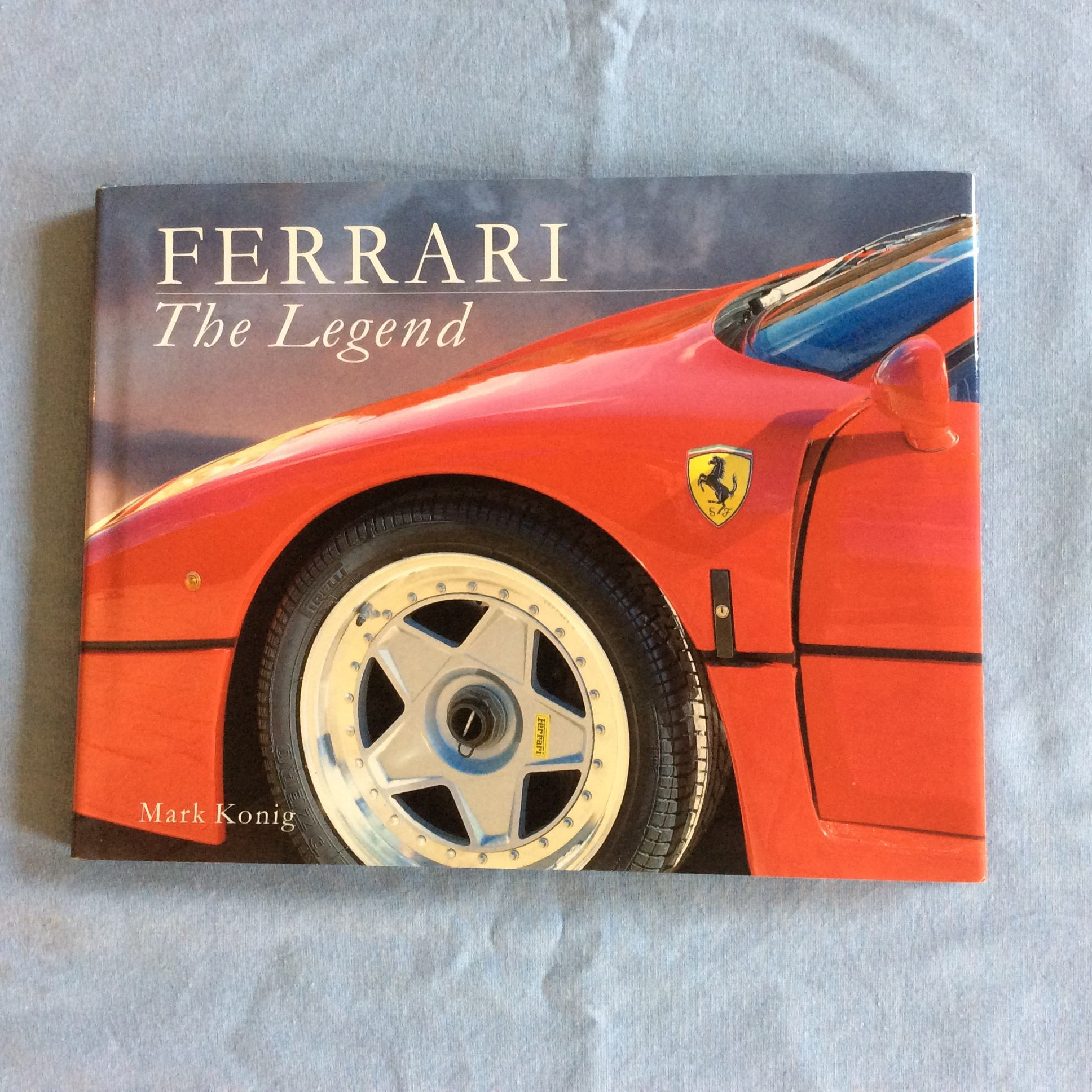 Ferrari Memorabilia: Other Cars, Memorabilia Ferrari The Legend Book